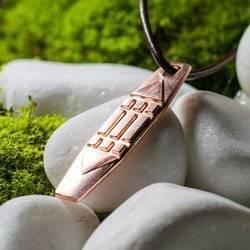 Atlantis Anhänger aus Kupfer 4,7cm Schutz Talisman