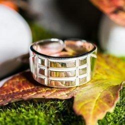 Atlantis Ring Schutz Talisman aus 925er Silber