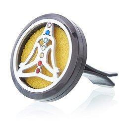 Lufterfrischerset fürs Auto ' Yoga - Chakra '
