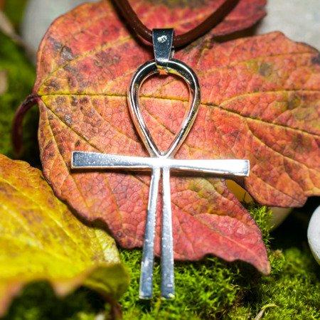 Kreuz des Atlantis 4,5cm  Schutz Talisman aus 925er Silber