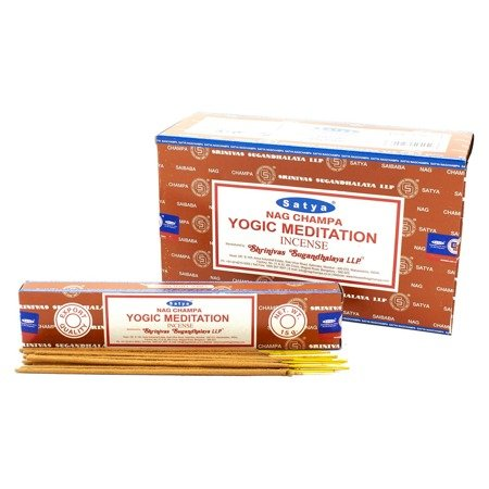 Räucherstäbchen Satya Yogische Meditation 15g