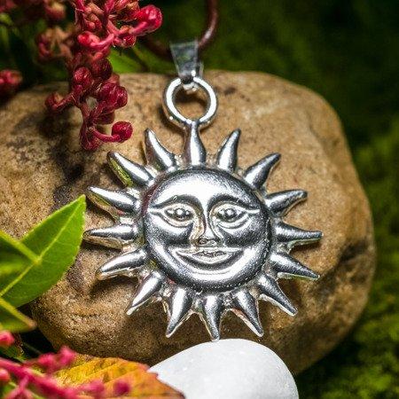 Sonne Anhänger 3,4cm aus Silber 925
