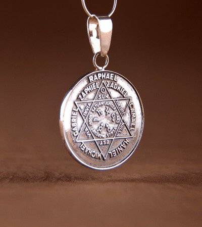 Talisman der Engel ( Siegel der Sieben Erzengel ) aus Silber 925